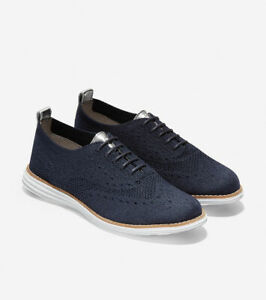 BNEW-COLE-HAAN-Marine-Blue-OriginalGrand-Stitchlite-Derby-Womens-Shoes-Size-6