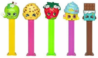 CUPCAKE QUEEN /& CHEEKY CHOCOLATE W//2 NEWEST SHOPKINS PEZ SET OF ALL 5 MOC!