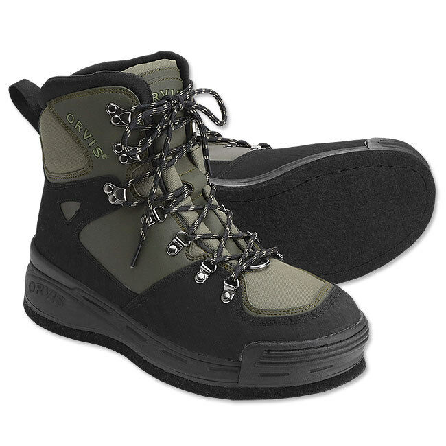 NEW -  Orvis Clearwater Wading Boot-Plain Felt-9 - FREE SHIPPING