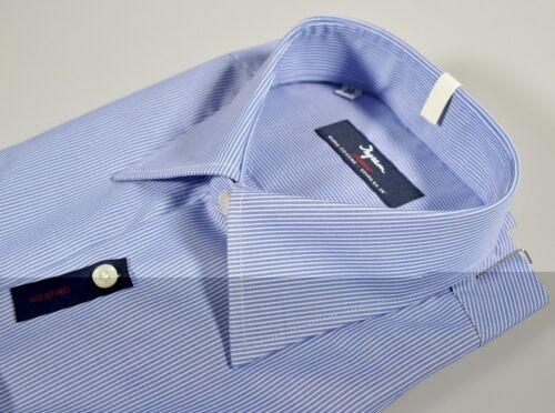 Cotone Ingram Stiro Azzurro M No 100 Camicia Taglia Mille Fit 39 Regular Righe HAwWdq0w