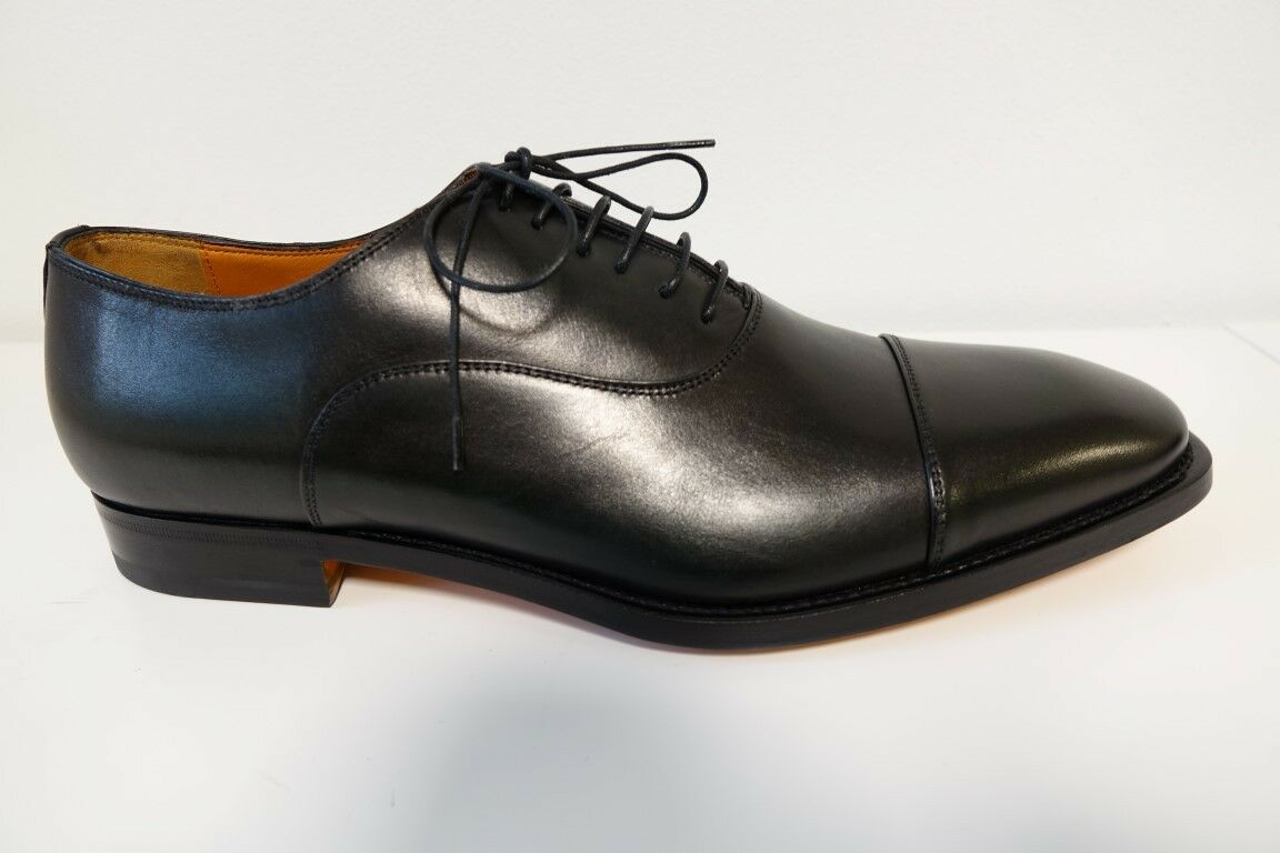 Santoni Chaussures Chaussures Chaussures Chaussures Hommes Business Chaussures Taille 9,5 (43,5) - NEUF/ORIGINAL 1a1822