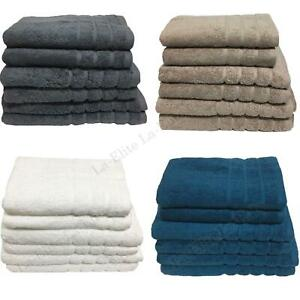 LUXURY 100/% EGYPTIAN COTTON 600 GSM FACE CLOTH HAND BATH TOWEL SHEET BALE SET