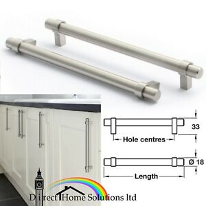 Image Is Loading Hafele Pimlico Steel Bar Handle Stainless Effect