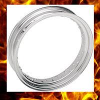 18x5.50 40 Spoke Custom Spun Steel Chrome Rim