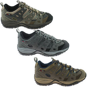 da99087863f Details about MENS JOHNSCLIFFE WATERPROOF HIKING SHOES SIZE UK 4 - 14  TRAINERS WALKING T746 KD