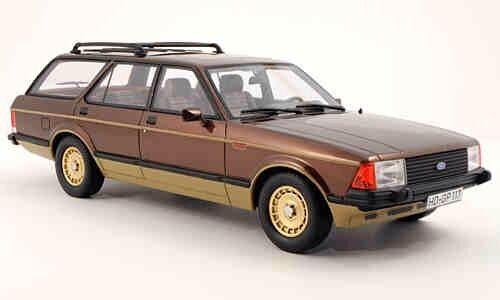 BOS 1980 FORD Granada Edition Limitée de 1000 échelle  1 18. RARE  forme unique