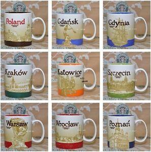 STARBUCKS-COFFEE-CITY-MUG-POLAND-POLEN-Ltd-Staedtetasse-Cup-kubki-miast-Polski