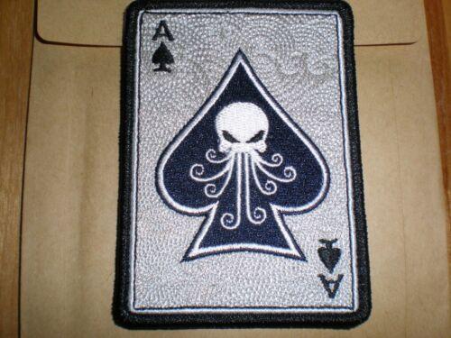SPD PCK Death Card LTD ED Morale Patch TAD