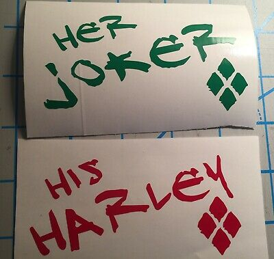 Suicide Squad His And Hers Set Her Joker His Harley