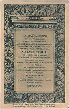CARTOLINA d'Epoca  BERGAMO  - Romano di Lombardia : LAPIDE CAV. RUBINI