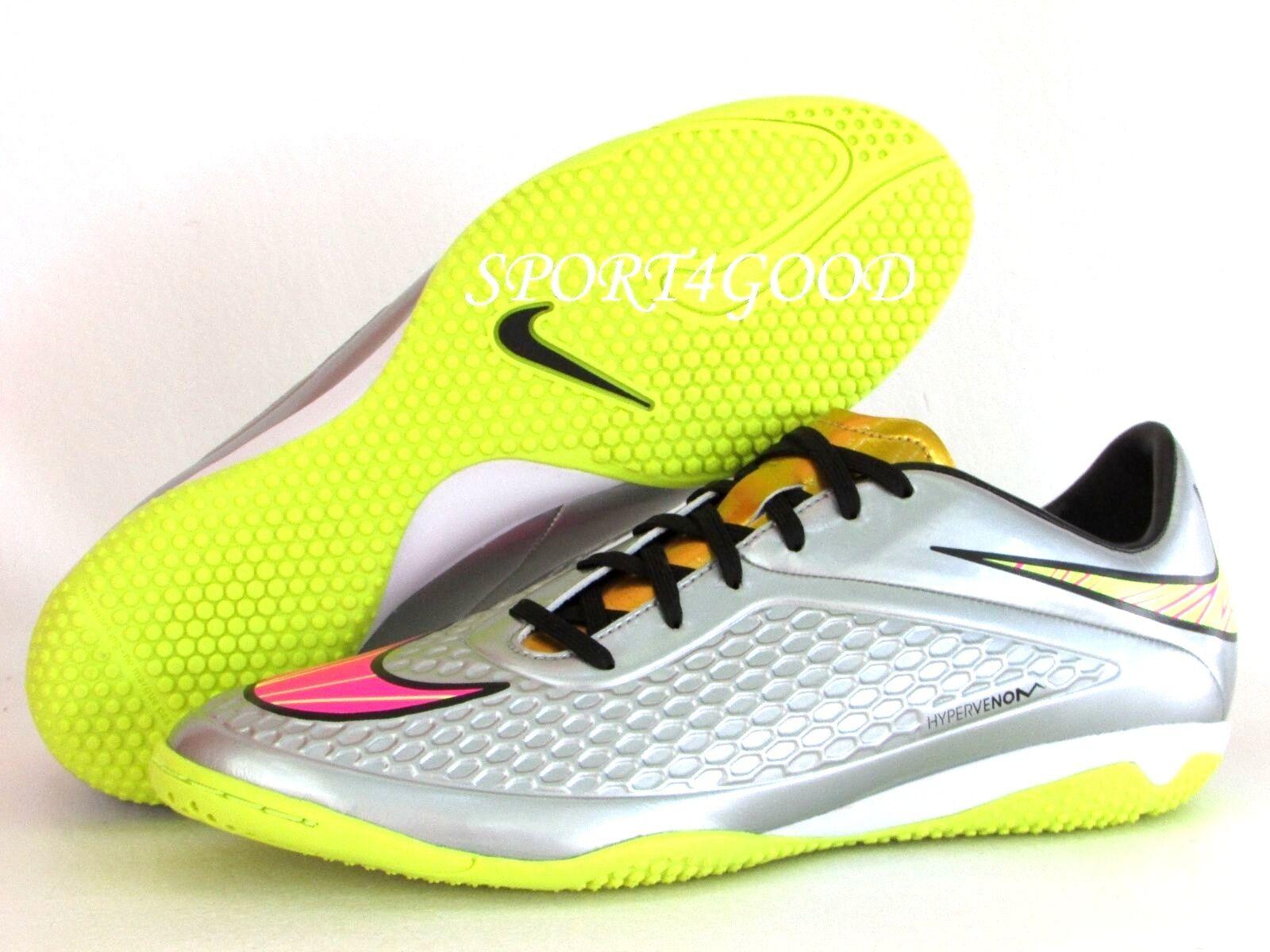 4586f88e5 Nike Hypervenom Phelon Premium Turf Mens 677588-069 Chrome Soccer ...