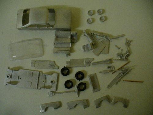 Ford Escort Mk2  Zakspeed 1 43rd scale whitemetal kit by K & R Replicas