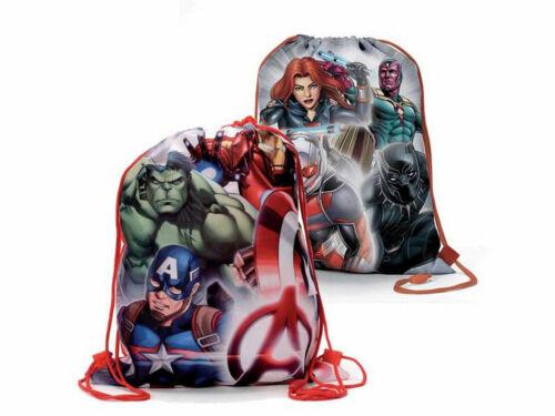 Superhelden beidseitig bedruckt Avengers trendiger Sportbeutel