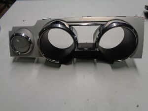Ford-Mustang-Speedometer-Trim-Bezel-Silver-Accents-2005-2006-2007-2008-2009