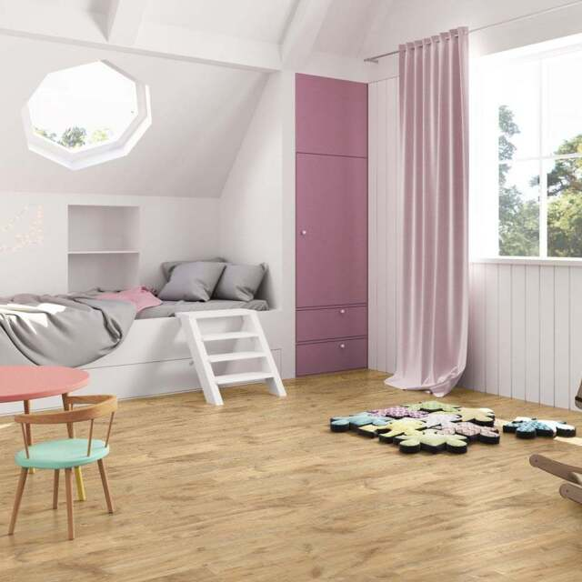 7mm Laminate Flooring Quick Step Creo 16 4m2 Louisiana Oak Natural Cr3176