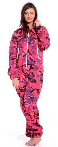 Womens camuflage Jumpsuit pyjamas camouflage Printed lot Sleepwear girls