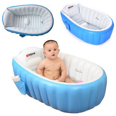 Baby Kinder Badewanne Pool Planschbecken Badepool Badesitz Wanne DE Aufblasbar