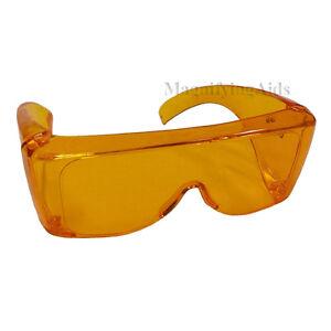 fafa751611 NoIR U68 UV Shield Sunglasses - 52% Light Orange - Style  Universal ...