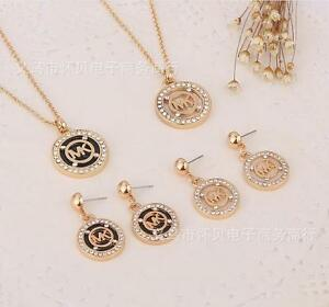 Fashion jewelry necklaces pendants diamond m k letter drop earring image is loading fashion jewelry necklaces pendants diamond m k letter drop aloadofball Gallery