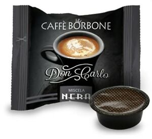100-CAPSULE-CAFFE-039-BORBONE-DON-CARLO-MISCELA-NERA-COMPATIBILI-LAVAZZA-A-MODO-MIO