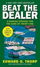 Beat the Dealer : A Winning Strategy for the Game of Twenty-One by Edward O. Thorp (1966, Paperback, Revised)