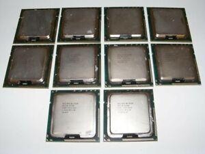 LOT OF 10 INTEL XEON E5520 2.26 GHZ/8M/5.86 GTS QUAD-CORE PROCESSOR SLBFD