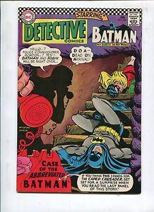DETECTIVE COMICS #360 -THE CASE OF THE ABBREVIATED BATMAN! - (8.0) 1967