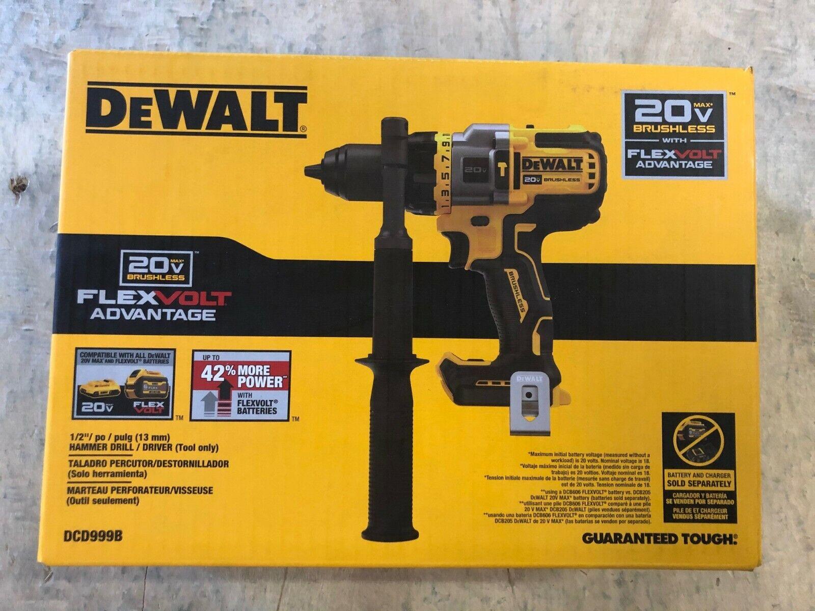 DeWalt DCD999B 20V Max XR 1/2