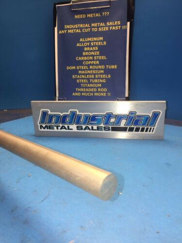 "3//4/"" Diameter x 24/""-Long AZ31B Magnesium Round Bar"