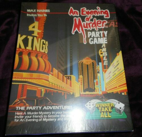 NEW WINNER TAKE ALL PARTY GAME AN EVENING OF MURDER MYSTERY ADVENTURE GAME