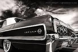 1964 Impala Ss 2 Door Hardtop Rear Side Panels Black White Ebay