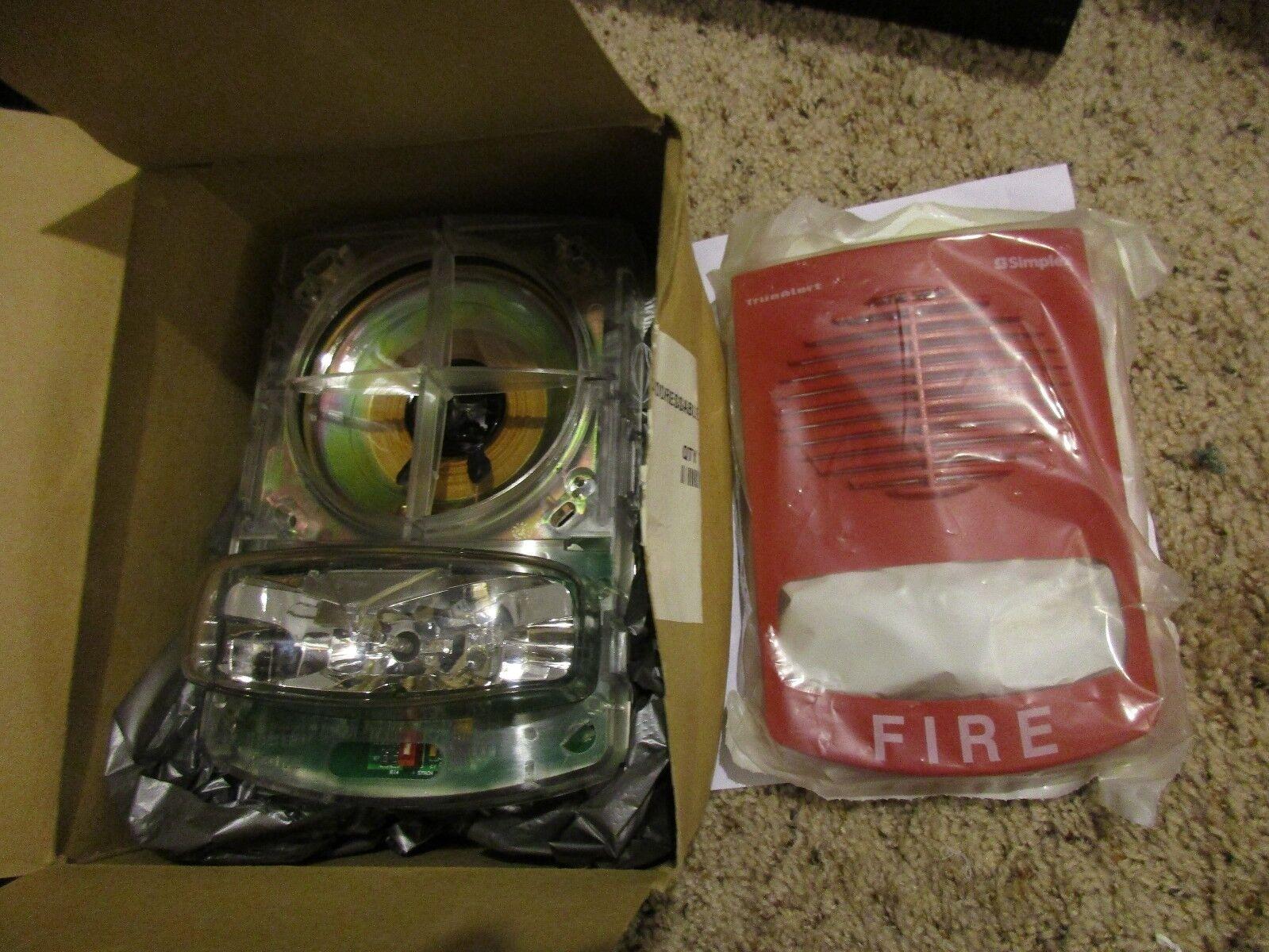 NEW SIMPLEX TRUEALERT 4903-9356 NON-ADDRESSABLE RED 15CD WALL FIRE ALARM 0626805