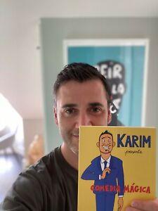 Karim-se-suma-al-reto-Sinmiedo24hConRosana-donando-un-libro-y-una-varita-magica