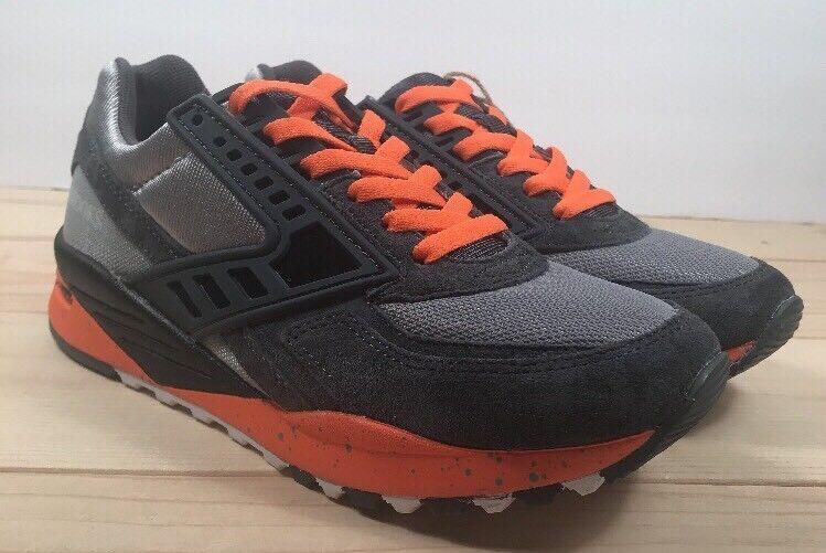 Brooks Regent Homme Rétro Chaussure de course homme taille 7 pour Femme Taille 9 gris Orange