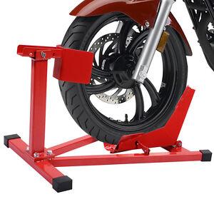 Montagestaender-Motorradstaender-Motorradwippe-Transportstaender-Motorrad-Wippe