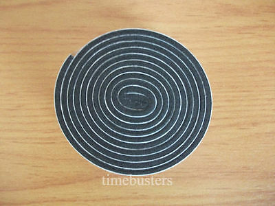2m Black Double Sided Foam Tape Closed Cell 10mm Wide x 3mm Thick