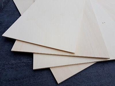 Sperrholz M/öbelbau Pappel 800 x 400 x 4 mm