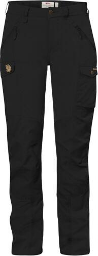 Laderas räven señora pantalones Nikka trousers curved negro g1000