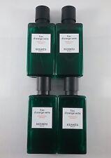Hermes d'Orange Verte  Shampoo lot of 4 each 1.35 oz Bottles. Total of 5.4oz