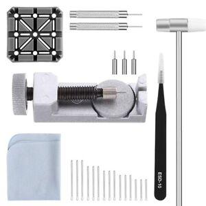 Uhren-Armband-Verbindungs-Glied-Stift-Entferner-Reparatur-Werkzeug-26-In-1-X3N9