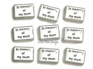 In-Memory-Of-My-Mum-Floating-Charm-for-Living-Memory-Locket-Necklace-Pendant
