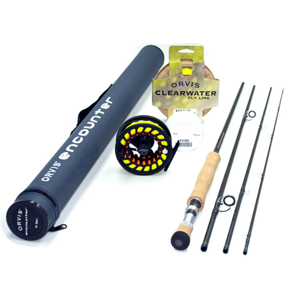 Orvis Encounter 6-weight 9'0   Fly Rod Outfit, NEW FREE SHIPPING IN THE US  the newest