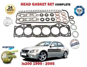 FOR-LEXUS-IS200-2-0-1-1999-12-2005-NEW-CYLINDER-HEAD-GASKET-SET-EO-QUALITY