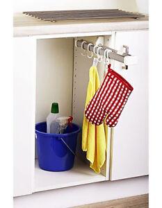 hakenleiste ausziehbar schrankauszug ordnungssystem f r k che kleiderschrank etc ebay. Black Bedroom Furniture Sets. Home Design Ideas