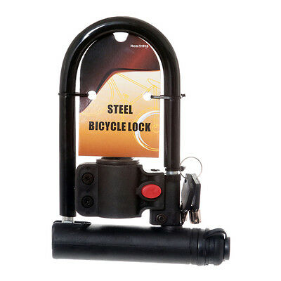 Universal U Lock Anti-theft Steel Bicycle//Cycling//Bike//Gate Frame Mount USA