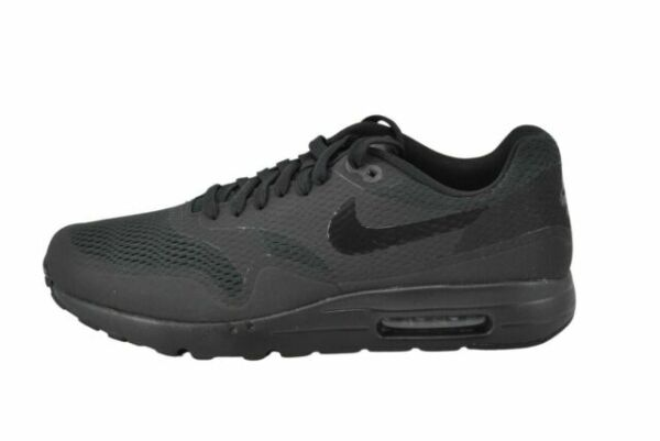 Size 9.5 - Nike Air Max 1 Ultra Essential Triple Black for sale ...