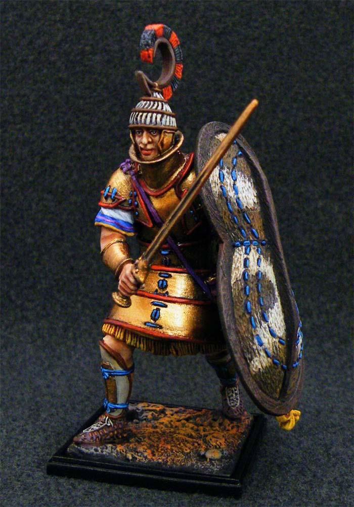 Huvudarmén 5005 - Mykenaens krigare i tung arme - St. Petersburg Connorseur