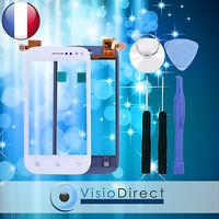 Ecran Vitre Tactile Pour Wiko Cink Slim Blanc + Outils