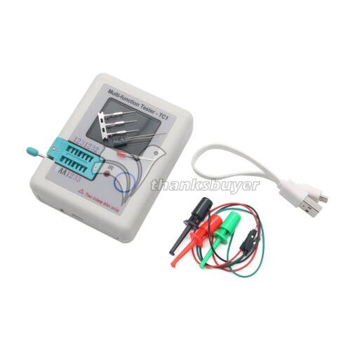 Multi-fonction testeur TC1 LCR couleur TFT rétroéclairage Transistor Test Hooks