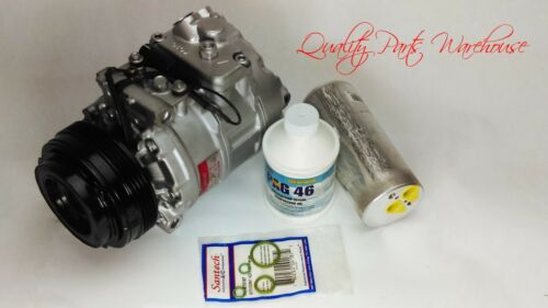 2004-2006 BMW X3 OEM Remanufactured A//C Compressor kit with one year warranty